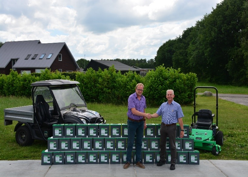 First ACES lithium batteries delivered to Frisian Motors